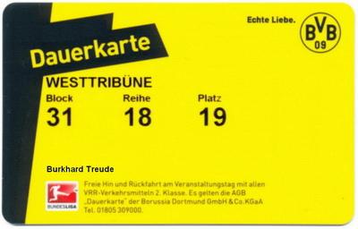 Borussia Dortmund Dauerkarte